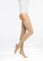 Sigvaris Essentiel Semi-transparent Bas Auto-fixants  Femme Classe 2 Naturel Xsmall Normal à BOURG-SAINT-MAURICE