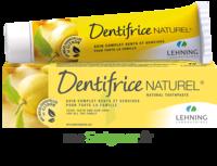 Lehning Pâte Dentifrice Homéopathique Citron T/80g à BOURG-SAINT-MAURICE