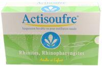 Actisoufre 4 Mg/50 Mg Par 10 Ml, Suspension Buvable Ou Pour Instillation Nasale à BOURG-SAINT-MAURICE