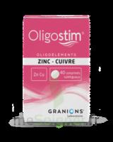 Oligostim Zinc Cuivre Cpr Subl T/40 à BOURG-SAINT-MAURICE
