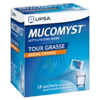 Mucomyst 200 Mg Poudre Pour Solution Buvable En Sachet B/18 à BOURG-SAINT-MAURICE