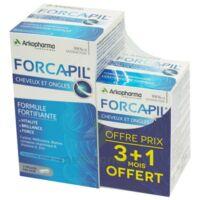Forcapil Gélules Croissance Vitalité Cheveux Ongles B/180+60 à BOURG-SAINT-MAURICE