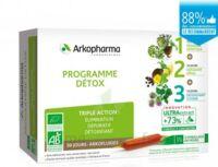 Arkofluide Bio Ultraextract Coffret Programme Détox 3x10 Ampoules/10ml à BOURG-SAINT-MAURICE