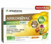 Arkoroyal Immunité Fort Solution Buvable 20 Ampoules/10ml à BOURG-SAINT-MAURICE