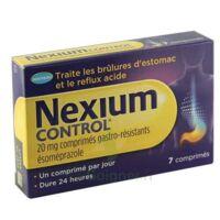 Nexium Control 20 Mg Cpr Gastro-rés Plq/7 à BOURG-SAINT-MAURICE
