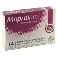 Mopralpro 20 Mg Cpr Gastro-rés Film/14 à BOURG-SAINT-MAURICE