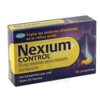 Nexium Control 20 Mg Comprimés Gastro-résistants Plq/14 à BOURG-SAINT-MAURICE