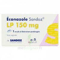 Econazole Sandoz L.p. 150 Mg, Ovule à Libération Prolongée à BOURG-SAINT-MAURICE