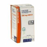 Calcium Vitamine D3 Biogaran 500 Mg/400 Ui, Comprimé à Sucer à BOURG-SAINT-MAURICE