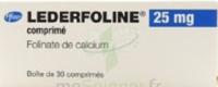 Lederfoline 25 Mg, Comprimé à BOURG-SAINT-MAURICE