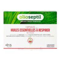 Olioseptil - Capsules Huiles Essentielles à Respirer - Nez Dégagé à BOURG-SAINT-MAURICE