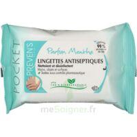 Preven's Lingette Antiseptique Menthe à BOURG-SAINT-MAURICE