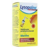 LysopaÏne Ambroxol 17,86 Mg/ml Solution Pour Pulvérisation Buccale Maux De Gorge Sans Sucre Menthe Fl/20ml