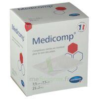 Medicomp® Compresses En Nontissé 7,5 X 7,5 Cm - Pochette De 2 - Boîte De 25 à BOURG-SAINT-MAURICE