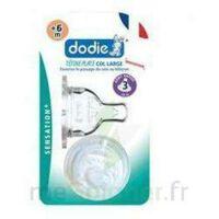 Dodie Sensation+ Tétine Plate Débit 2 Silicone 0-6mois à BOURG-SAINT-MAURICE