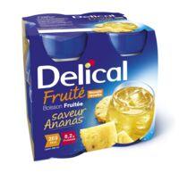 Delical Boisson Fruitee Nutriment Ananas 4bouteilles/200ml à BOURG-SAINT-MAURICE