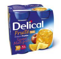 Delical Boisson Fruitee Nutriment Multi Fruits 4bouteilles/200ml à BOURG-SAINT-MAURICE