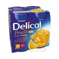 Delical Boisson Fruitee Nutriment Orange 4bouteilles/200ml à BOURG-SAINT-MAURICE