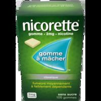 Nicorette 2 Mg Gom à Mâcher Médic Sans Sucre Menthe Fraîche Plq/105gom à BOURG-SAINT-MAURICE