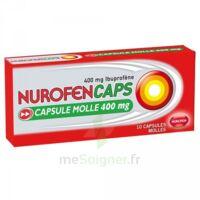 Nurofencaps 400 Mg Caps Molle Plq/10 à BOURG-SAINT-MAURICE