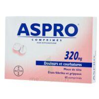 Aspro 320 Mg, Comprimé à BOURG-SAINT-MAURICE