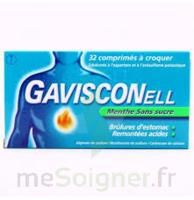 Gavisconell Coprimés à Croquer Sans Sucre Menthe édulcoré à L'aspartam Et à L'acésulfame Potas Plq/24 à BOURG-SAINT-MAURICE