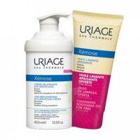 Xémose Crème Relipidante Anti-irritations Fl Pompe/400ml + Huile Lavante 200ml à BOURG-SAINT-MAURICE