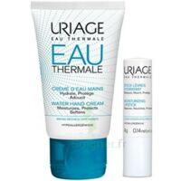 Uriage Eau Thermale Crème D'eau Mains T/30ml+stick Lèvres à BOURG-SAINT-MAURICE