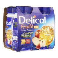 Delical Boisson Fruitee Nutriment Pomme 4bouteilles/200ml à BOURG-SAINT-MAURICE
