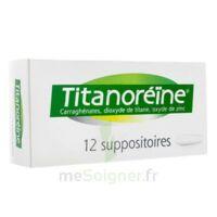 Titanoreine Suppositoires B/12 à BOURG-SAINT-MAURICE