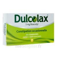 Dulcolax 5 Mg Comprimés Enrobés Gastro-résistants Plq/30 à BOURG-SAINT-MAURICE