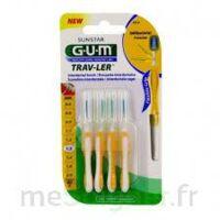 Gum Trav - Ler, 1,3 Mm, Manche Jaune , Blister 4 à BOURG-SAINT-MAURICE
