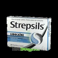 Strepsils Lidocaïne Pastilles Plq/24 à BOURG-SAINT-MAURICE