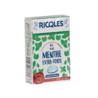 Ricqles Sucres Cuits Bonbon Menthe Extra-forte Sans Sucre B/40g à BOURG-SAINT-MAURICE
