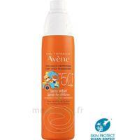 Avène Eau Thermale Solaire Spray Enfant 50+ 200ml à BOURG-SAINT-MAURICE