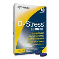 D-stress Sommeil Comprimés B/40 à BOURG-SAINT-MAURICE