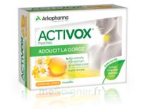Activox Sans Sucre Pastilles Miel Citron B/24 à BOURG-SAINT-MAURICE