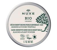 Nuxe Bio Déodorant Baume Fraîcheur 24h Peaux Sensibles Pot/50g à BOURG-SAINT-MAURICE